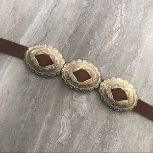 Forever 21 Brown Buckle Choker